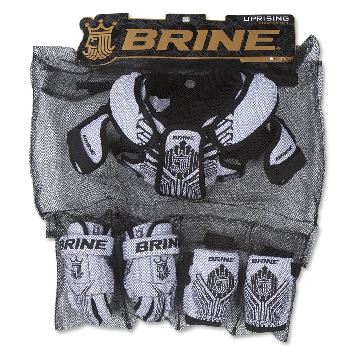 Brine Youth Uprising Starter Lacrosse Set