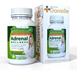 Dr. Danielle Adrenal Wellness with Ashwaganda, Rhodiola, Schisandra and more Adrenal & Cortisol Herbal Supplement