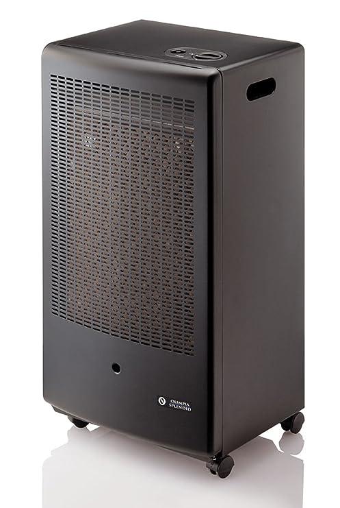 Olimpia Splendid Pratica Nera 3100W - Calefactor (Piso, 3100 W, 2000 W,