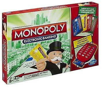 Hasbro Gaming - Monopoly electrónico, Juego de Mesa (versión ...