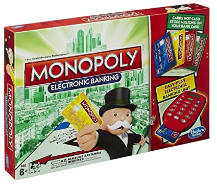 Image result for monopoly electronic banking