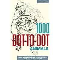 1000 Dot-to-Dot: Animals