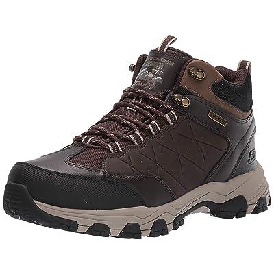 Skechers Men's SELMEN-TELAGO LACE UP Boot Hiking, Chocolate, 10.5 Medium US: Shoes
