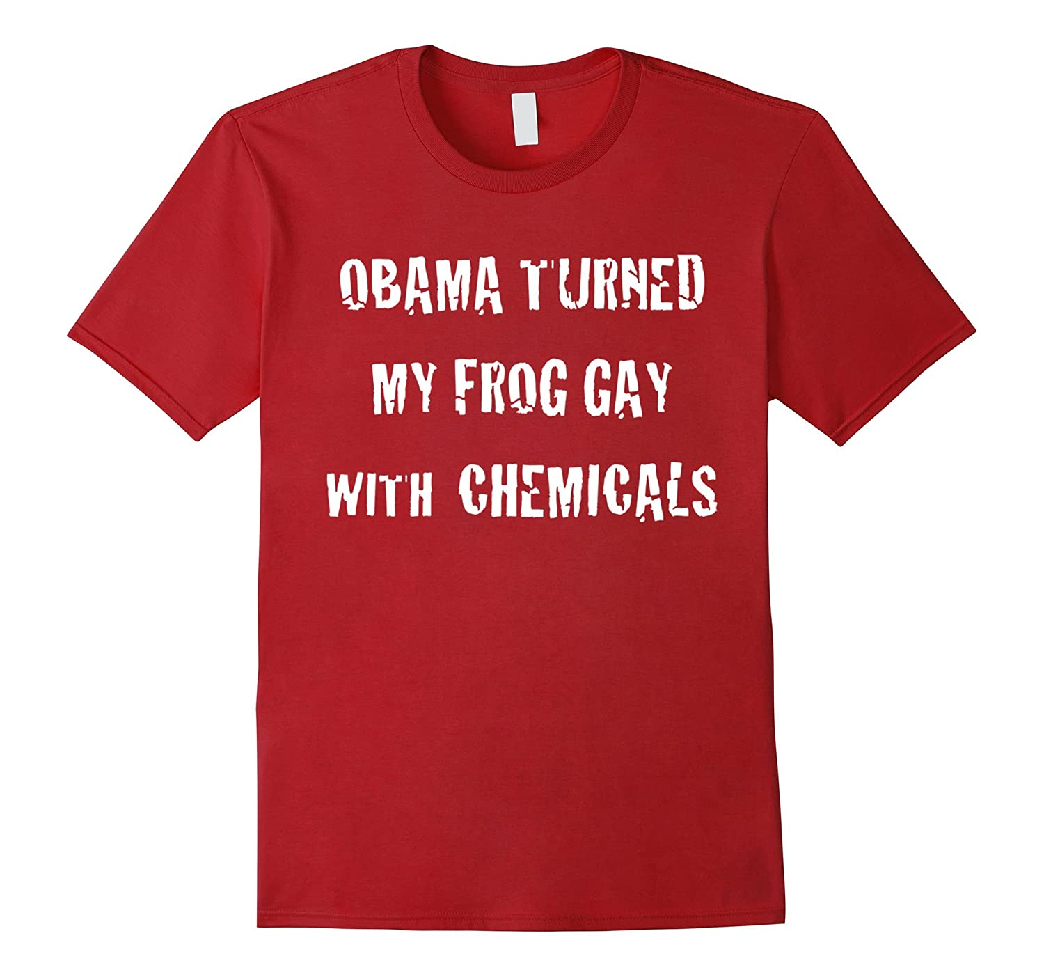 Obama turned my frog gay with chemicals