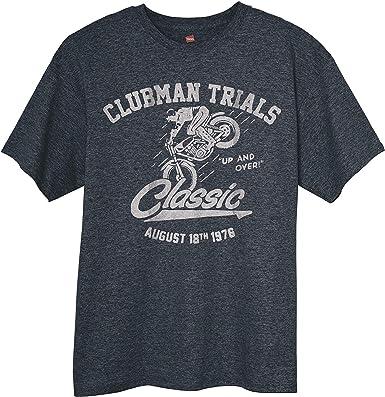Camiseta de Estilo Vintage para Hombre, Color Gris, para ...
