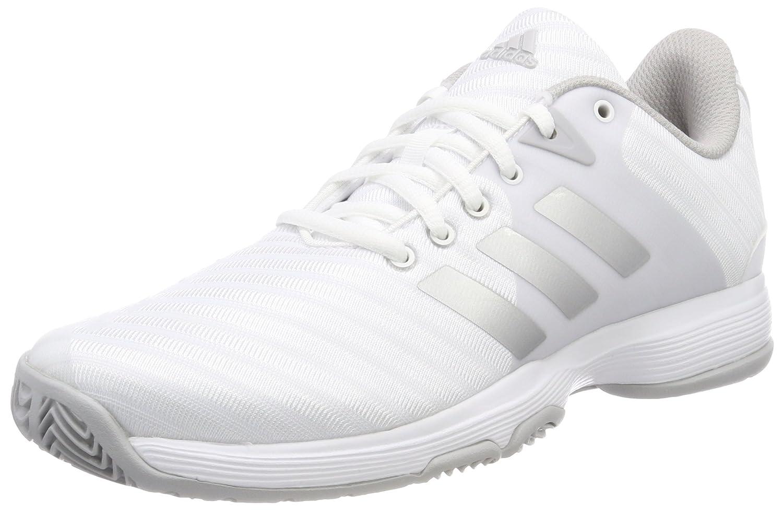 Adidas Barricade Court, Zapatillas de Tenis para Mujer 38 EU|Blanco (Ftwbla / Plamat / Gridos 000)