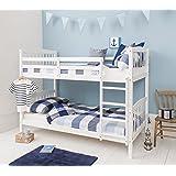 Noa and Nani - Brighton Bunk Bed   Splits into 2 Singles - (White)
