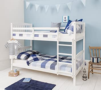 Noa And Nani Bunk Bed Wooden Single Can Be Split Into 2 Singles