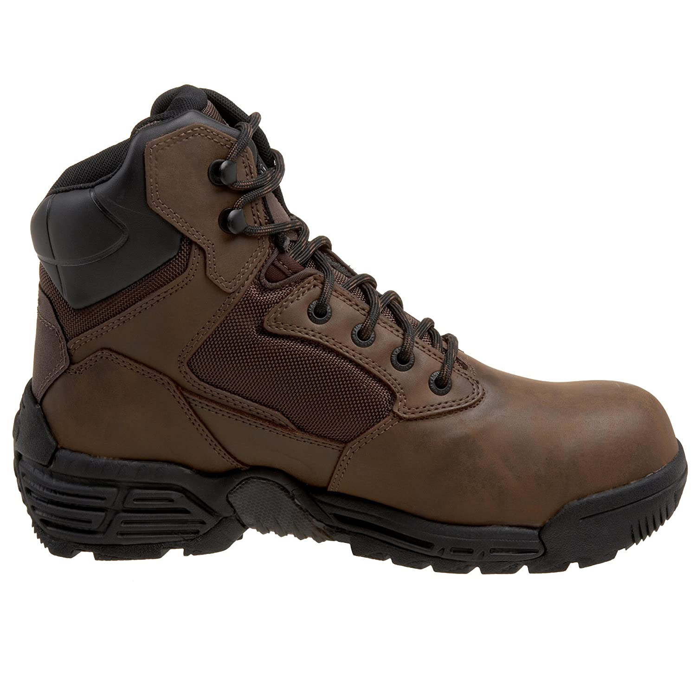 Amazon.com: Magnum Men's Work Horse 6.0 Waterproof Comp Toe Boot,Dark  Chocolate,11.5 M US: Shoes