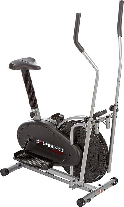 Confidence - Bicicleta elíptica 2 en 1: Amazon.es: Deportes y aire ...