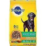 PEDIGREE Healthy Weight Adult Dry Dog Food Roasted Chicken & Vegetable Flavor Dog Kibble, 15 lb. Bag