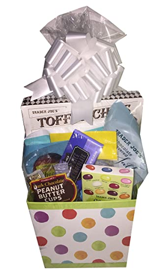Amazon best of trader joes gourmet candy goodies easter best of trader joes gourmet candy goodies easter basket with gummy bunnies tummies gourmet negle Image collections