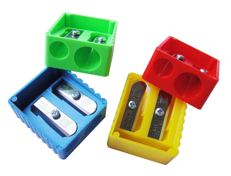 Pack of 4 Eisen Manual Pencil Sharpener