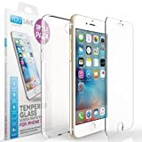 Yousave Accessories Ultra Thin iPhone 7 Clear Case & Tempered Glass Screen Protector Set - Transparent