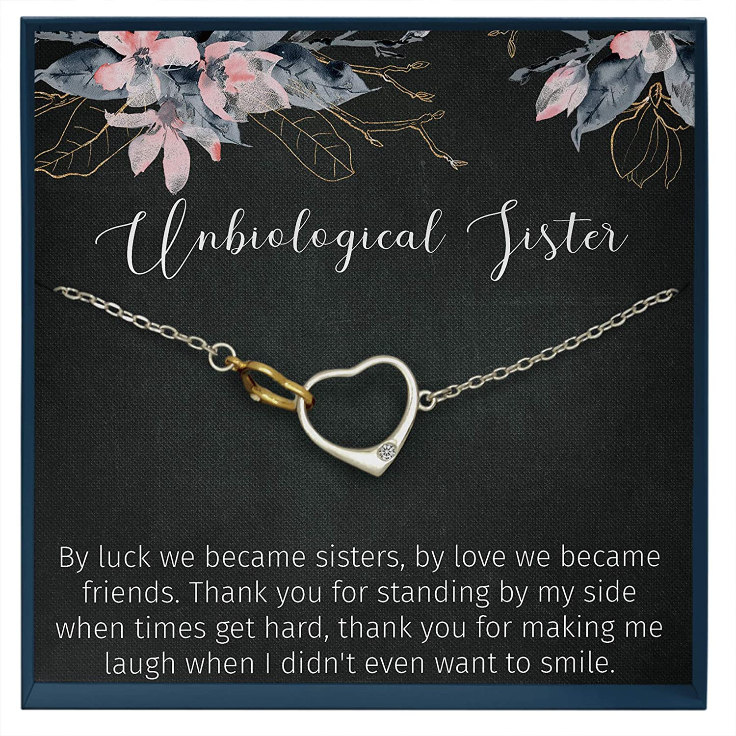 Soul Sister Bridesmaid Gift Sorority Necklace Muse Infinite Unbiological Sister Gift Best Friend Necklace