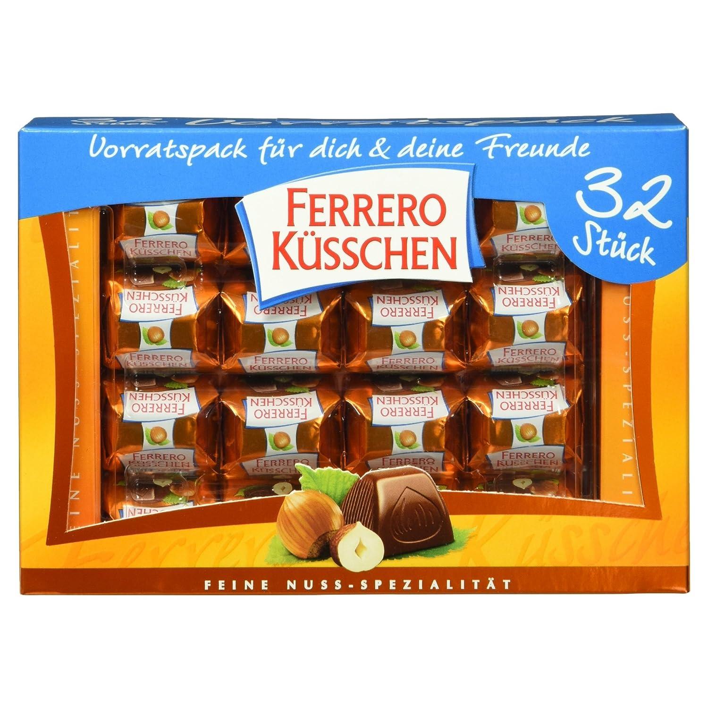Ferrero Küsschen Feine Nuss Spezialität 32 Stück 284 G