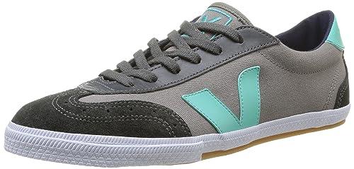 Veja Volley - Zapatillas de deporte de canvas para mujer gris Gris (Grey Chlorophyll) 45: Amazon.es: Zapatos y complementos