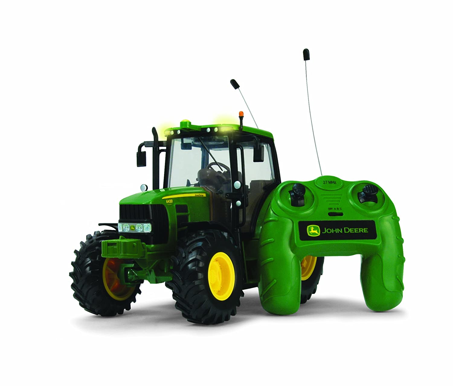 Britains Big Farm 6430 John Deere Remote Control Tractor: Amazon.co.uk:  Toys & Games