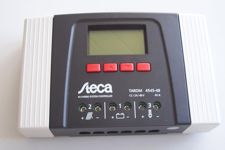 Steca Tarom 4545-48Volt Solar Laderegler für Inselanlage Solaranlage Garten