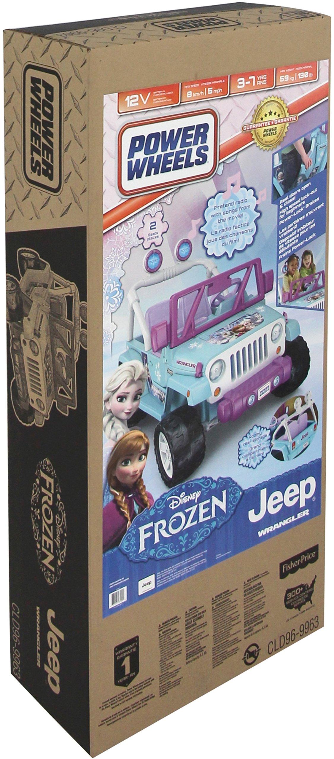 Power Wheels Disney Frozen Jeep Wrangler by Fisher-Price (Image #5)