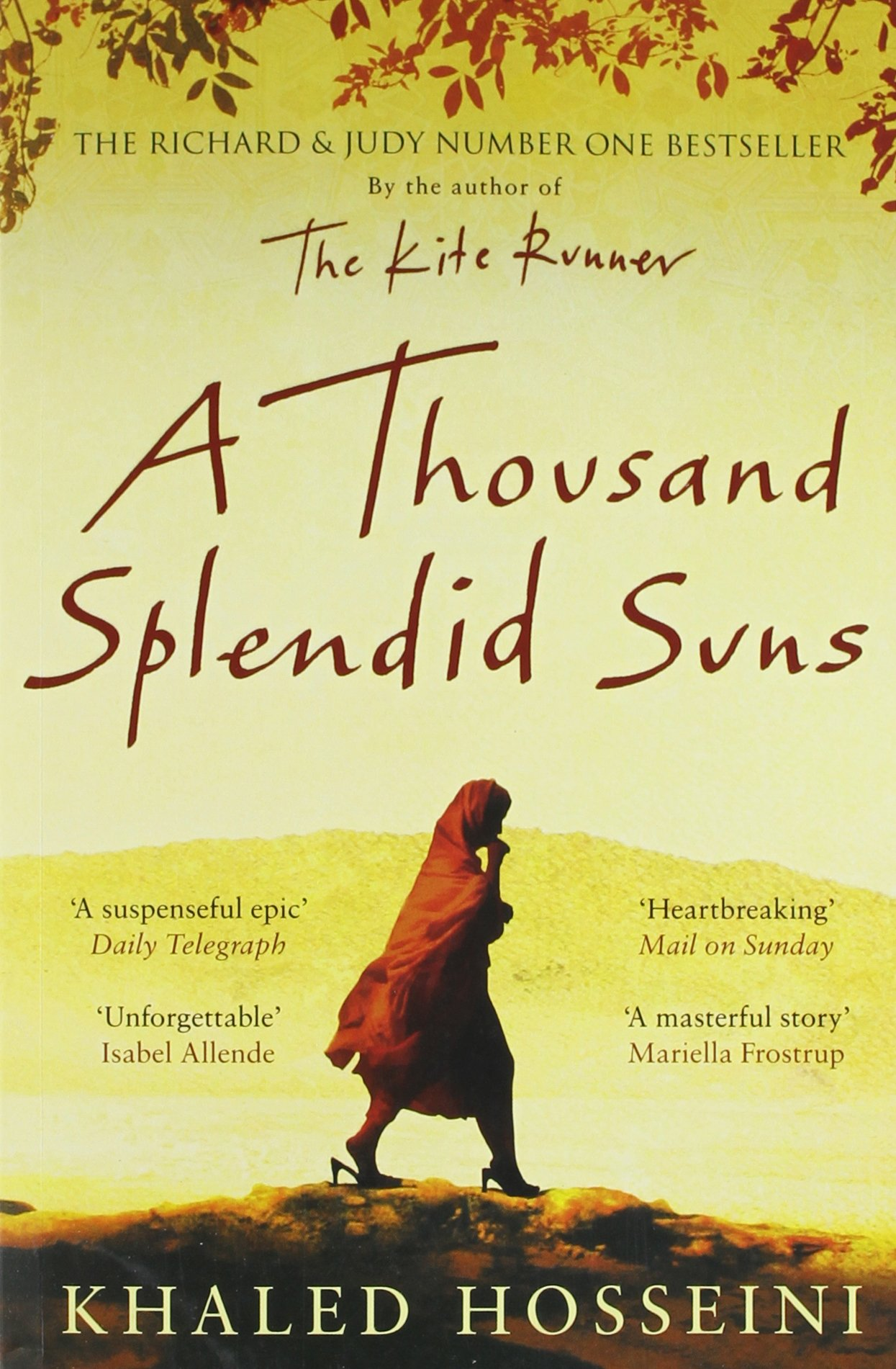 A Thousand Splendid Suns Wiring Library 2004 Honda Odyssey Harness Melted Khaled Hosseini 9781408844441 Amazoncom Books