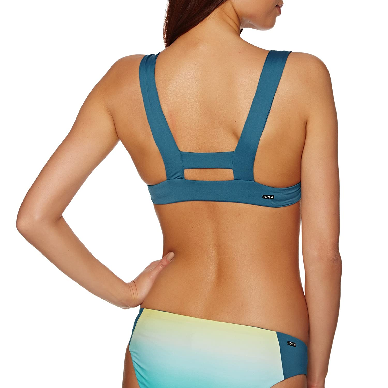 bfe8e4c711 Rip Curl Mirage Pacific Light Halter to Bikini Top: Amazon.co.uk ...