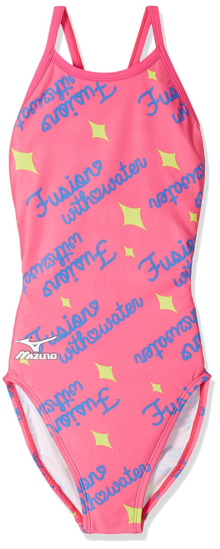 MIZUNO(ミズノ) 競泳水着 レディース エクサースーツ ミディアムカット ワンピース N2MA7771 B071P3DL6J Small|64:ピンク 64:ピンク Small