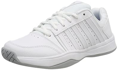 cheap for discount 56bb0 2c275 K-Swiss Performance Women s KS TFW Court Smash Tennis Shoes, White (White