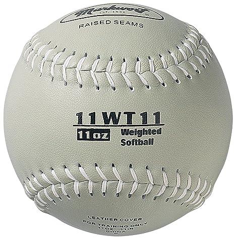Markwort - Pelota de Softball con Peso de 28 cm, Color Gris ...