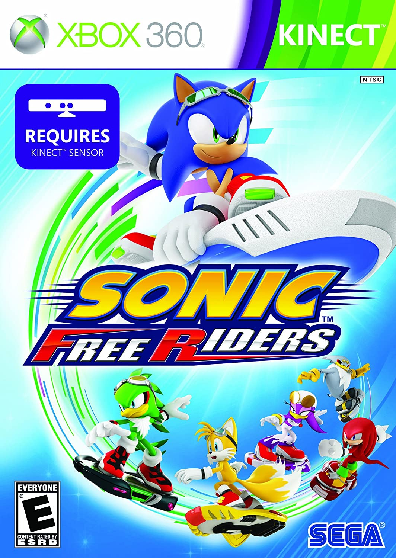 Amazon Com Sonic Free Riders Xbox 360 Sega Of America Inc Video Games