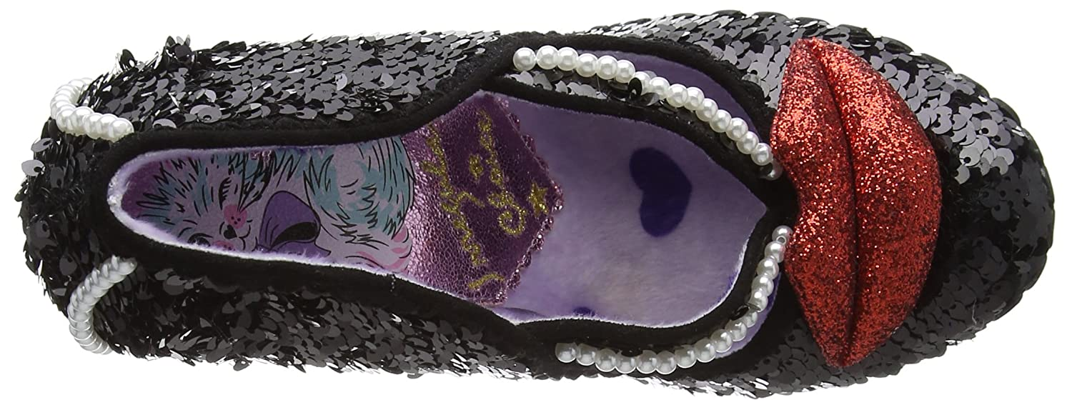 Irregular Choice Had To Scarpe con Tacco da Donna    Black (Black) cbd025