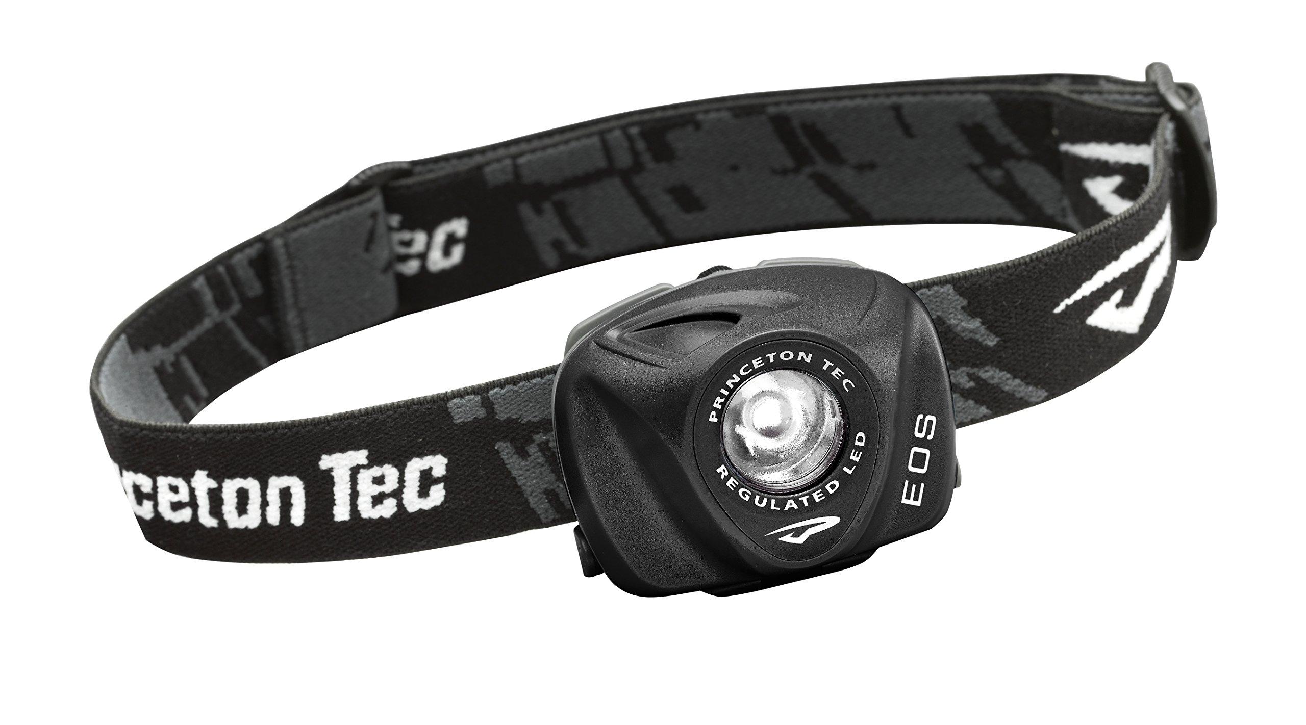 Princeton Tec EOS Headlamp (130 Lumens, Black) by Princeton Tec