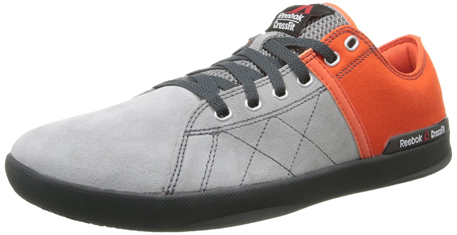 Amazon.com | Reebok Men's Crossfit Lite LO TR Training Shoe, Flat Grey/Flux  Orange/Hazard Orange/Gravel/Graphite, 8 M US | Fitness & Cross-Training