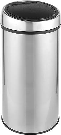 Acier Inoxydable 30/Litre 64/x 29 Russell Hobbs Rh00141/Touch Couvercle Rond de Cuisine de m/énage Poubelle