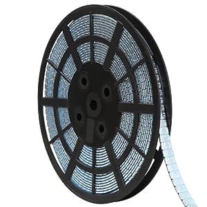 Timbertech - Masses d'équilibrage de roue autocollantes de 5 g par pièce - sur rouleau – Lot de 1 (1200 masses) – Argenté