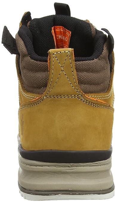 Scruffs Switchback Sb-P - Zapatos de seguridad para hombre, color amarillo, talla 42 EU (8 UK)