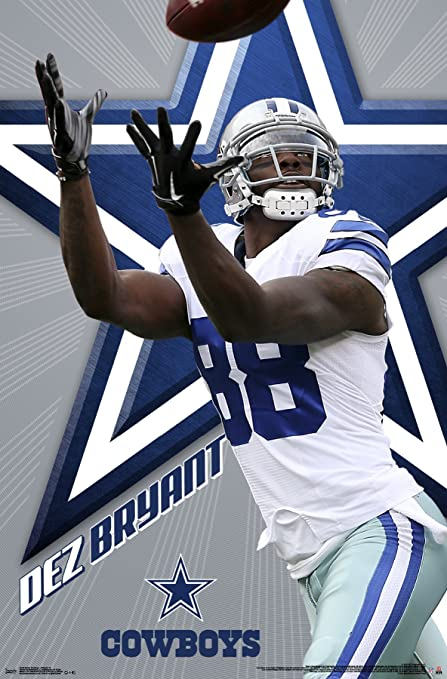 Trends International Dallas Cowboys Dez Bryant Wall Posters, 22u0026quot; ...