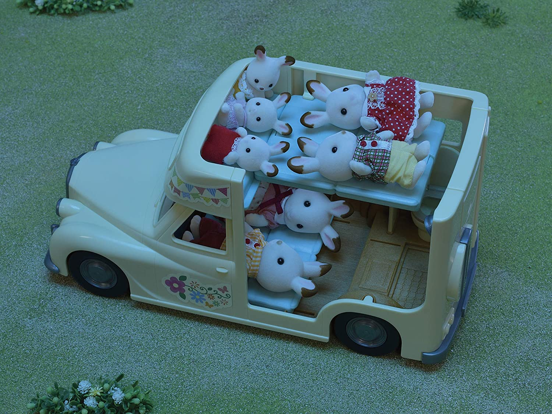 Sylvanian Families 5454 Family Campervan Vehical Playset Amazon Co Uk Toys Games