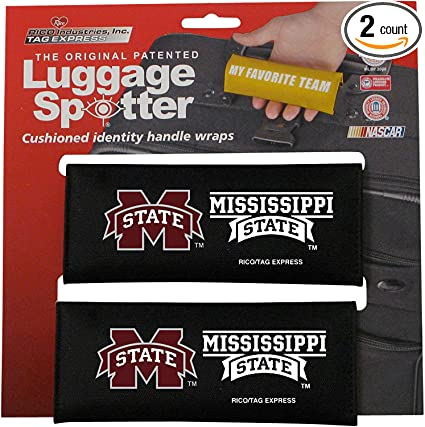 Luggage Spotter Florida State Seminoles Luggage Locator//Handle Grip//Luggage Grip//Travel Bag Tag//Luggage Handle Wrap Closeout 2-Pack Selling Fast!