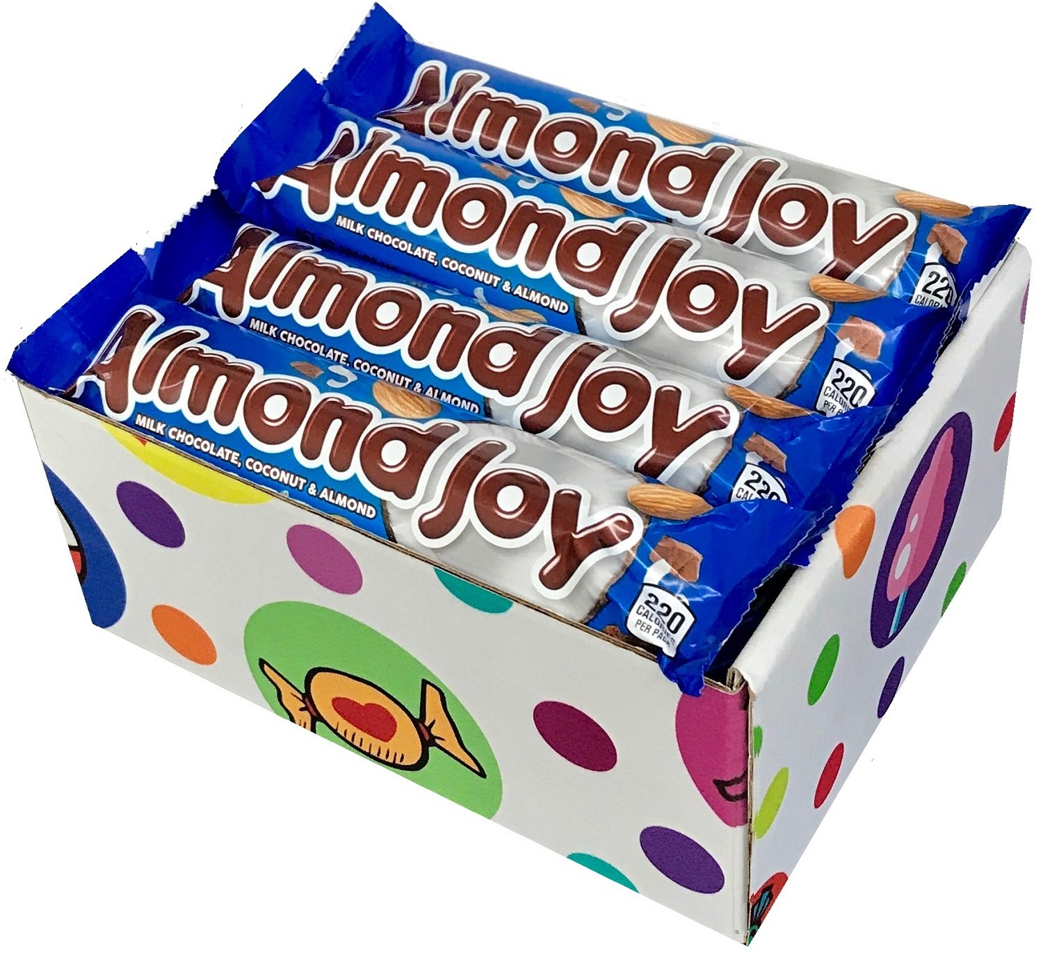 Almond Joy Candy Bars (Pack of 16) By CandyLab by CandyLab