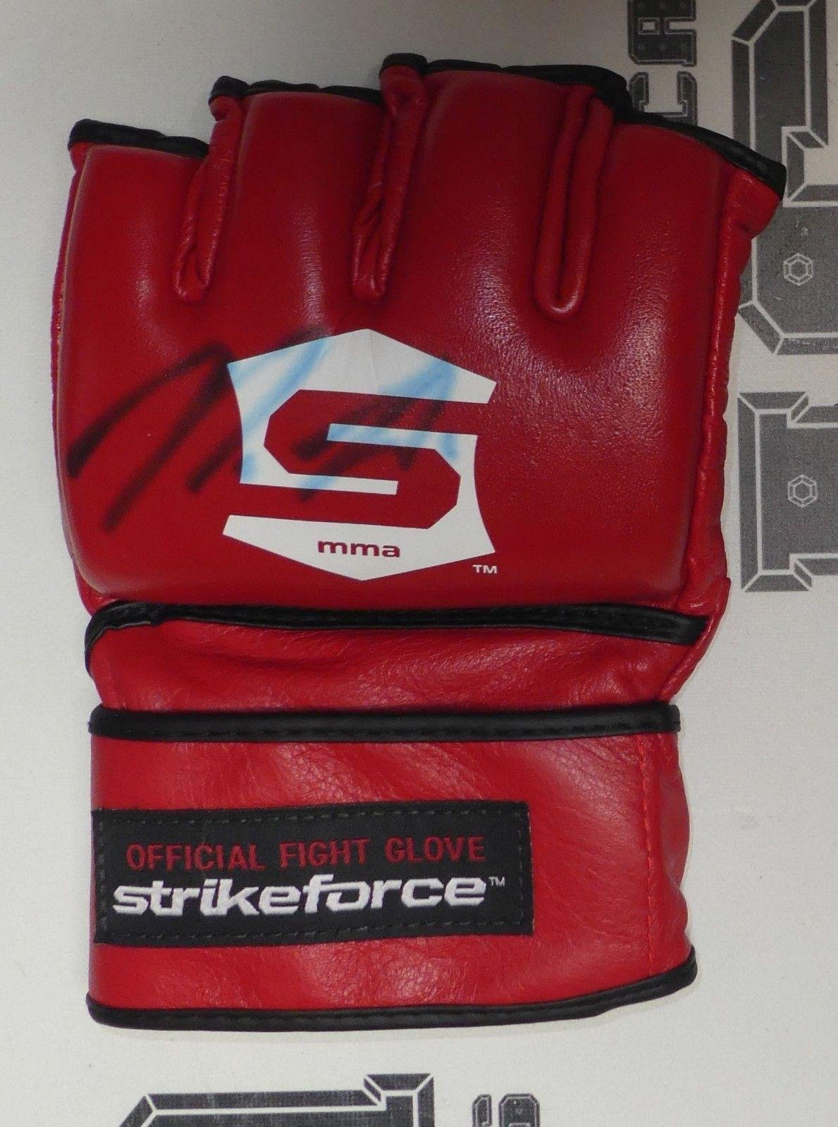Nick Diaz Signed Official StrikeForce Fight Glove COA UFC Autograph MMA PSA/DNA Certified Autographed UFC Gloves