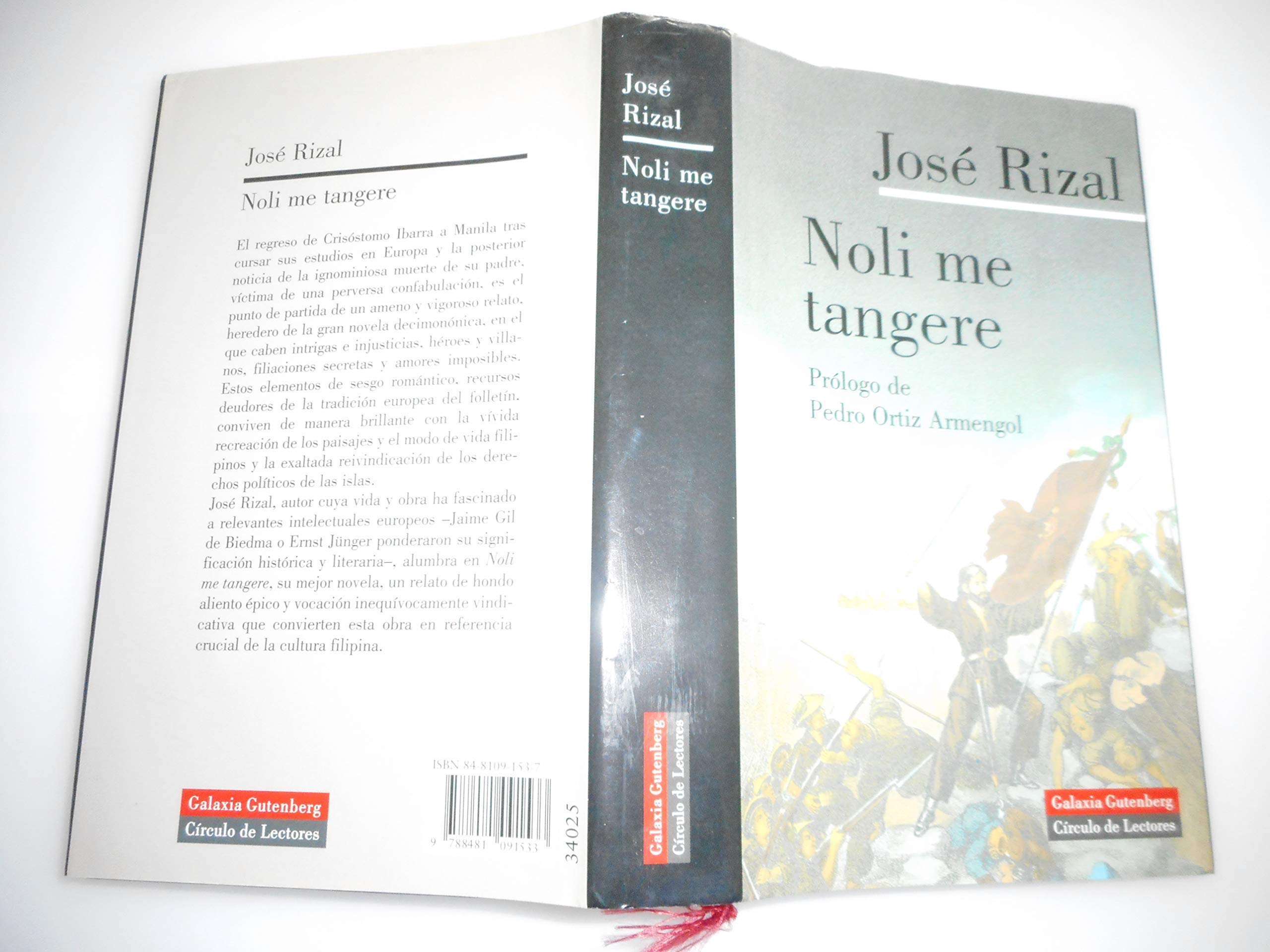 to the filipino youth by jose rizal spanish version