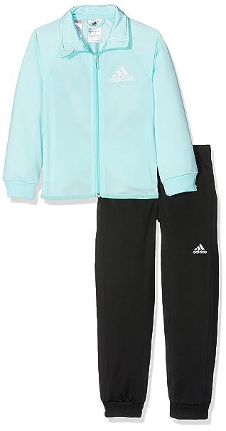 adidas Mädchen S Entry Trainingsanzug, Energy AquaWhite