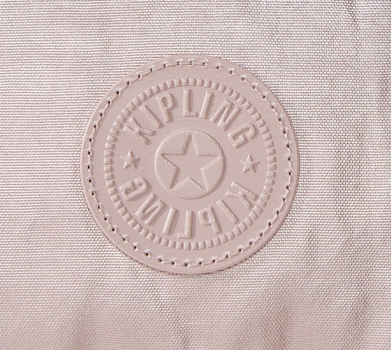 Kipling dam art mini handväska, 28 x 23,5 x 18,5 cm Rosa (metallisk ros)