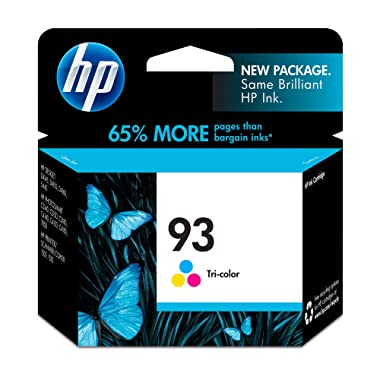 HP 93 Tri-color Original Ink Cartridge (C9361WN)