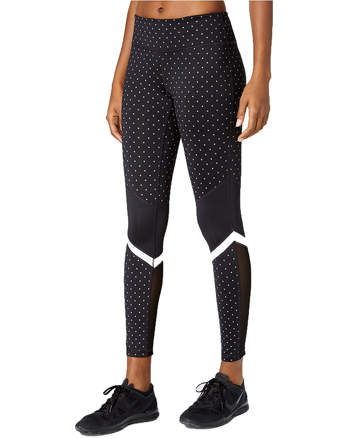6d8e95b61 Ideology Womens Mesh Inset Printed Athletic Leggings at Amazon Women s  Clothing store