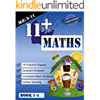 11+ Maths Practice Papers Book 1-4 (Age 9-11)