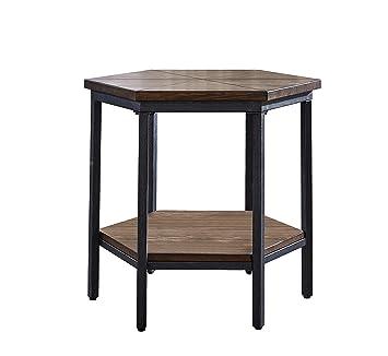 Amazon.com: Steve Ultimo Hexagon - Mesa de madera: Kitchen ...