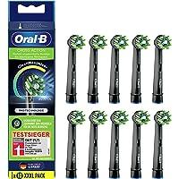 Oral-B CrossAction opzetborstels voor elektrische tandenborstel, 10 stuks, volledige mondreiniging met CleanMaximiser…