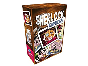 Blue Orange Sherlock Express Juego de comparación de Cartas ...